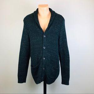 American Eagle Men's Medium Cardigan Sweater